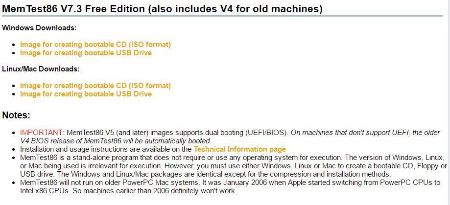 4 - Verifica singur daca ai probleme cu memoria RAM